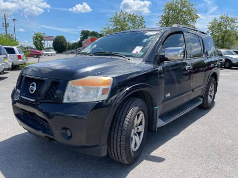 2008 Nissan Armada for sale at Diana Rico LLC in Dalton GA