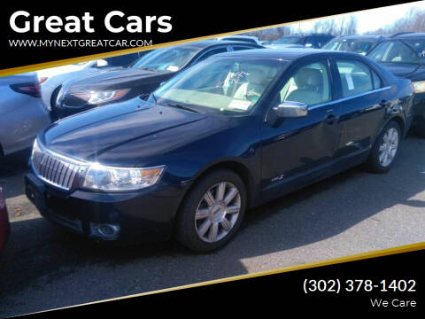 2008 Lincoln MKZ for sale at Great Cars in Middletown DE