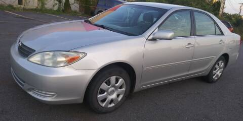 2002 Toyota Camry for sale at JG Motors in Worcester MA