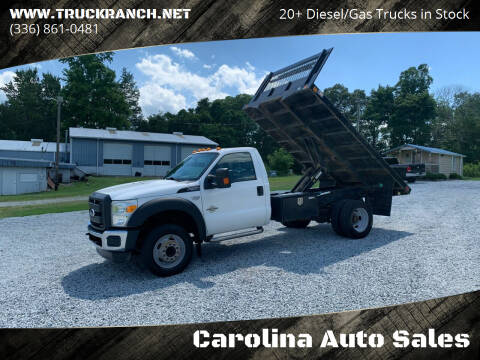2012 Ford F-550 Super Duty for sale at Carolina Auto Sales in Trinity NC
