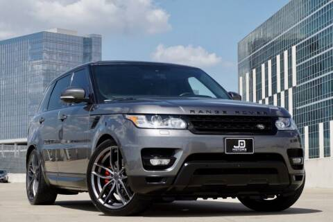 2016 Land Rover Range Rover Sport for sale at JD MOTORS in Austin TX