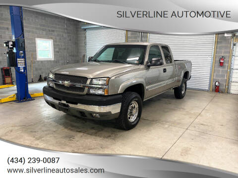 2003 Chevrolet Silverado 2500HD for sale at Silverline Automotive in Lynchburg VA