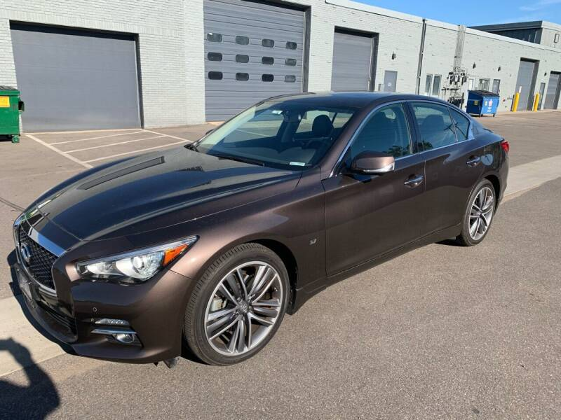 2015 Infiniti Q50 for sale at The Car Buying Center in Saint Louis Park MN