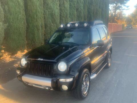 2003 Jeep Liberty for sale at River City Auto Sales Inc in West Sacramento CA