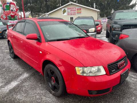 2004 Audi A4 for sale at Trocci's Auto Sales in West Pittsburg PA