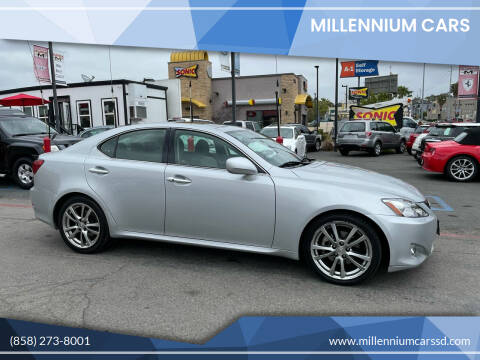 2008 Lexus IS 250 for sale at MILLENNIUM CARS in San Diego CA