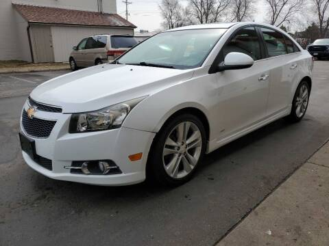 2012 Chevrolet Cruze for sale at MIDWEST CAR SEARCH in Fridley MN