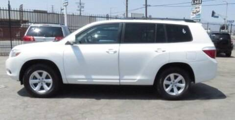 2010 Toyota Highlander for sale at Luxor Motors Inc in Pacoima CA