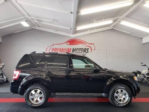 2012 Ford Escape for sale at Premium Motors in Villa Park IL