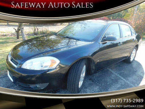 2007 Chevrolet Impala for sale at Safeway Auto Sales in Indianapolis IN