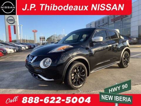 2017 Nissan JUKE for sale at J P Thibodeaux Used Cars in New Iberia LA