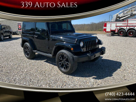 2018 Jeep Wrangler JK for sale at 339 Auto Sales in Belpre OH