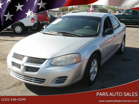 2005 Dodge Stratus for sale at PARS AUTO SALES in Tucson AZ
