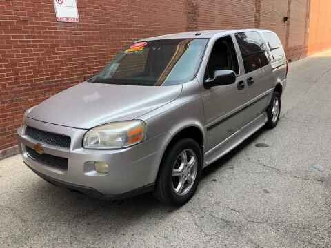 2007 Chevrolet Uplander for sale at QUALITY AUTO SALES INC in Chicago IL