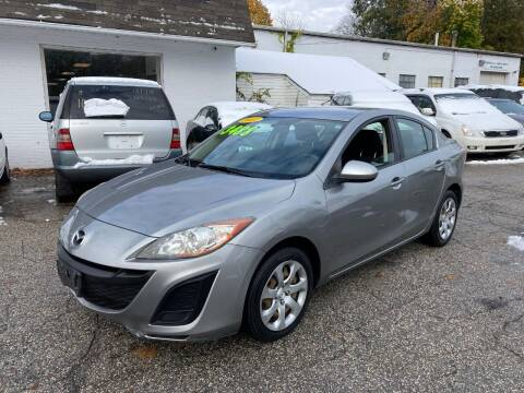 2011 Mazda MAZDA3 for sale at ENFIELD STREET AUTO SALES in Enfield CT