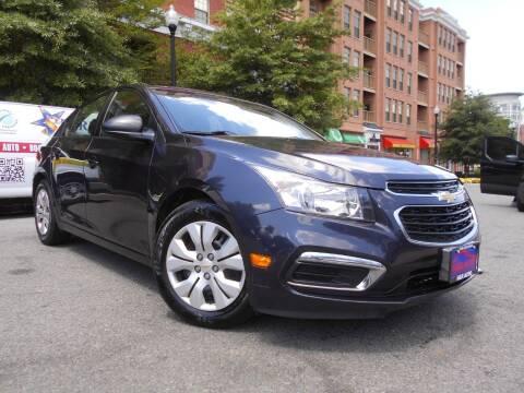 2015 Chevrolet Cruze for sale at H & R Auto in Arlington VA