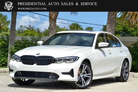 2021 BMW 3 Series for sale at Presidential Auto  Sales & Service in Delray Beach FL