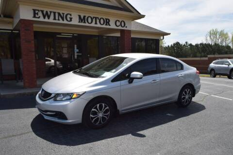 2014 Honda Civic for sale at Ewing Motor Company in Buford GA