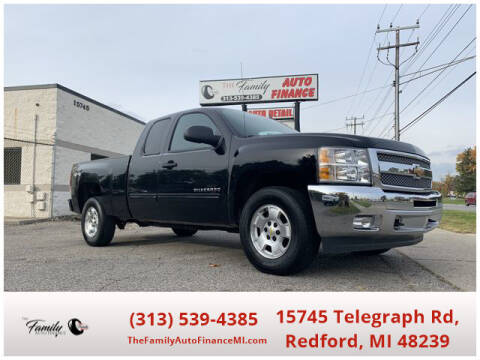 2013 Chevrolet Silverado 1500 for sale at The Family Auto Finance in Redford MI