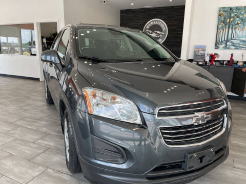 2016 Chevrolet Trax for sale at Evolution Autos in Whiteland IN