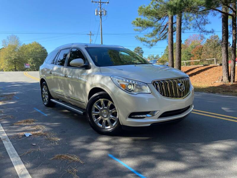 2014 Buick Enclave for sale at THE AUTO FINDERS in Durham NC