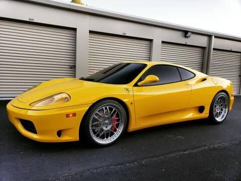 2002 Ferrari 360 Modena for sale at Massirio Enterprises in Middletown CT