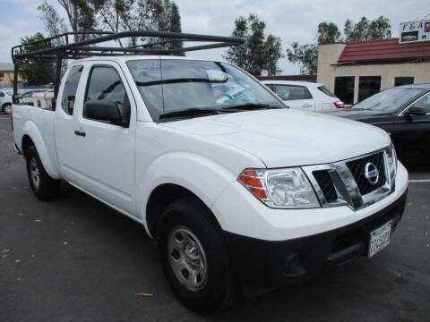 2013 Nissan Frontier for sale at F & A Car Sales Inc in Ontario CA