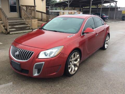 2013 Buick Regal for sale at OASIS PARK & SELL in Spring TX