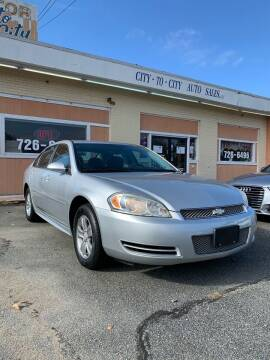 2013 Chevrolet Impala for sale at City to City Auto Sales in Richmond VA