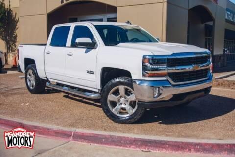 2016 Chevrolet Silverado 1500 for sale at Mcandrew Motors in Arlington TX