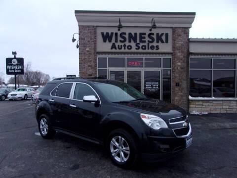 2013 Chevrolet Equinox for sale at Wisneski Auto Sales, Inc. in Green Bay WI