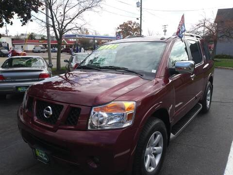 2011 Nissan Armada for sale at Oak Hill Auto Sales of Wooster, LLC in Wooster OH