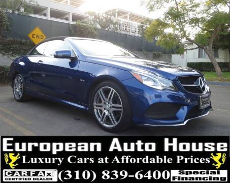 2017 Mercedes-Benz E-Class for sale at European Auto House in Los Angeles CA