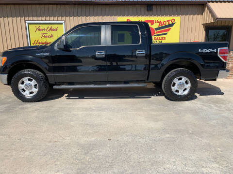 2009 Ford F-150 for sale at BIG 'S' AUTO & TRACTOR SALES in Blanchard OK