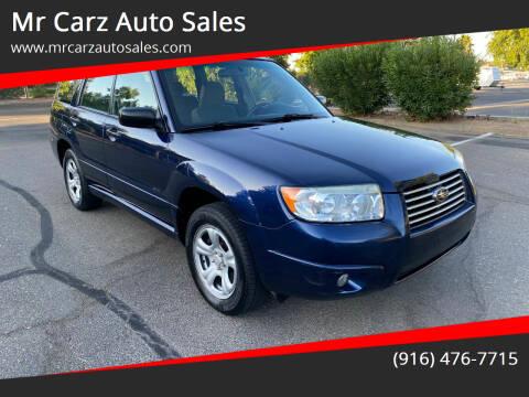 2006 Subaru Forester for sale at Mr Carz Auto Sales in Sacramento CA