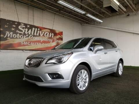 2017 Buick Envision for sale at SULLIVAN MOTOR COMPANY INC. in Mesa AZ