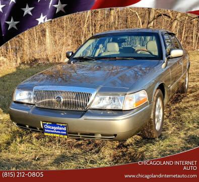 2003 Mercury Grand Marquis for sale at Chicagoland Internet Auto - 410 N Vine St New Lenox IL, 60451 in New Lenox IL