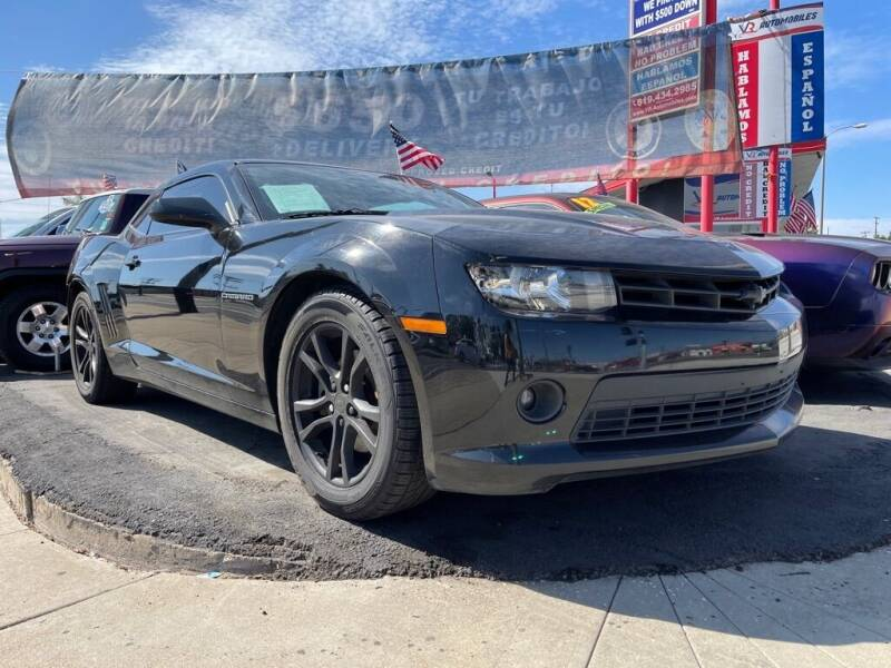 2015 Chevrolet Camaro for sale at VR Automobiles in National City CA