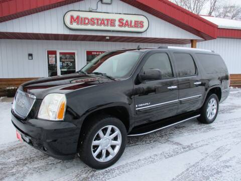 2007 GMC Yukon XL for sale at Midstate Sales in Foley MN