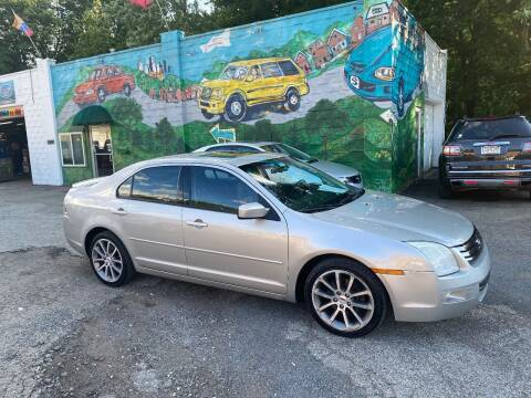 2008 Ford Fusion for sale at Showcase Motors in Pittsburgh PA