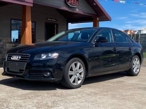 2011 Audi A4 for sale at Affordable Auto Sales in Cambridge MN