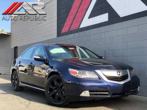 2010 Acura RL for sale at Auto Republic Fullerton in Fullerton CA