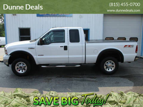 2007 Ford F-250 Super Duty for sale at Dunne Deals in Crystal Lake IL