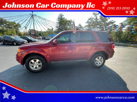 2012 Ford Escape for sale at Johnson Car Company llc in Crown Point IN
