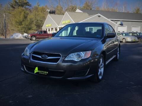 2008 Subaru Legacy for sale at 207 Motors in Gorham ME