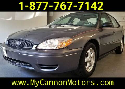 2005 Ford Taurus for sale at Cannon Motors in Silverdale PA