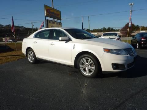 2010 Lincoln MKS for sale at Roswell Auto Imports in Austell GA