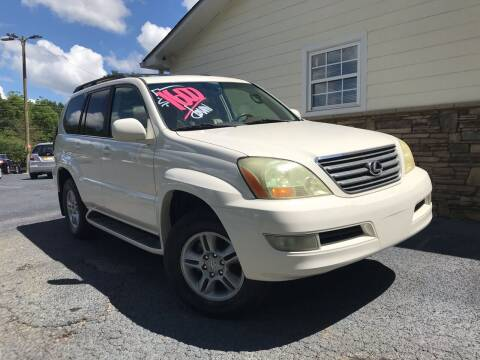 2004 Lexus GX 470 for sale at No Full Coverage Auto Sales in Austell GA