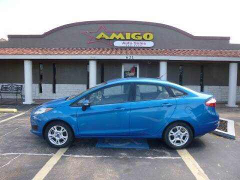 2014 Ford Fiesta for sale at AMIGO AUTO SALES in Kingsville TX