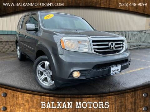 2012 Honda Pilot for sale at BALKAN MOTORS in East Rochester NY